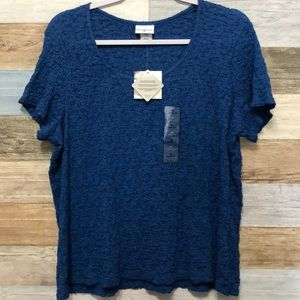 [3 for $30] Jaclyn Smith Size XL Top NWT